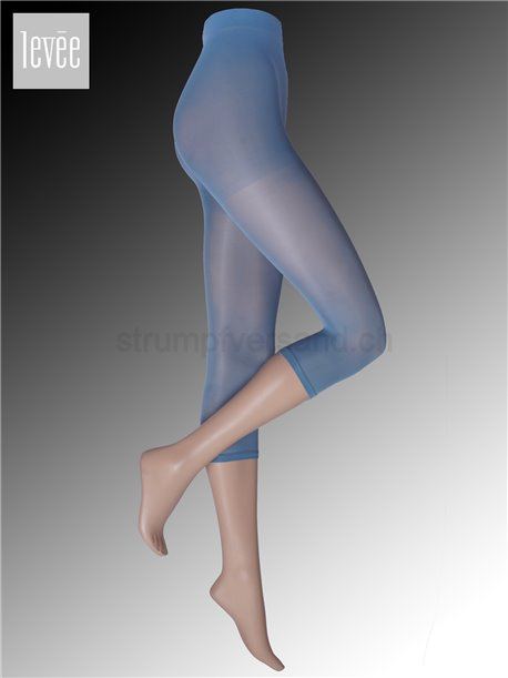 Blaue Leggings