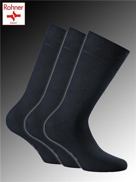 Cotton II Rohner Socken - 010 marine