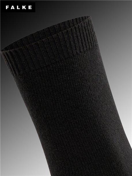 Damensocken COSY WOOL - 3009 schwarz