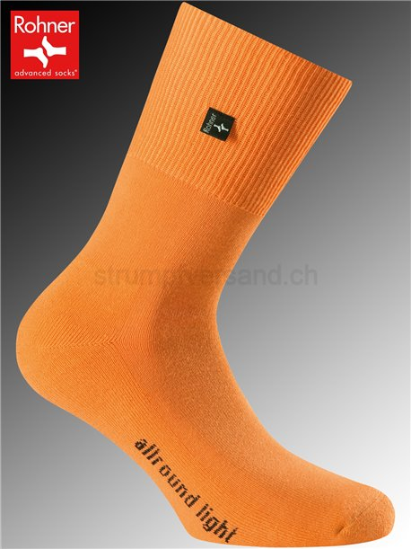 Rohner Socken ALLROUND LIGHT - 042 orange