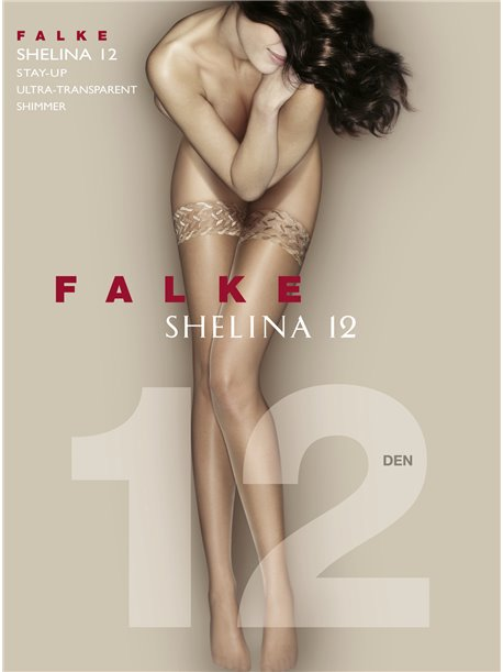 SHELINA 12 - Halterlose Strümpfe