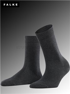 FAMILY Damensocken - 3089 anthracite mel.