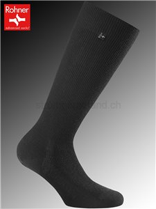 SUPER LONG Kniesocken - 009 schwarz