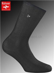 Rohner Socken BERGAMO - 009 schwarz