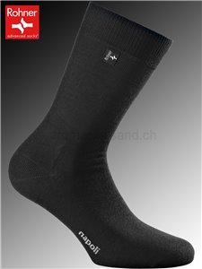 Rohner Socken NAPOLI - 009 schwarz