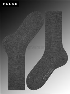 BERLIN SENSITVE Socken - 3080 anthracite mel.