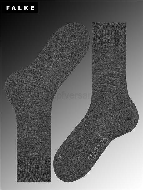 BERLIN SENSITVE Socken - 3080 anthracite mel.
