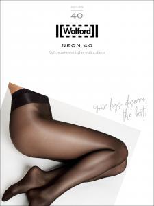 NEON 40 - glänzende Wolford Strumpfhosen