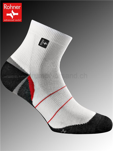 Rohner Socken SILVER RUNNER - 008 weiss