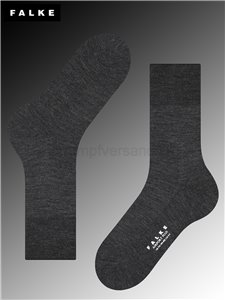 Falke Socken Airport Plus - 3080 anthracite mel.
