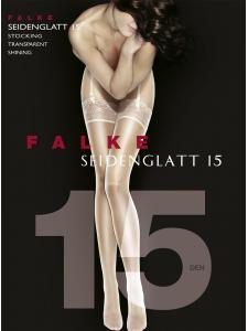 Strapsstrumpf - SEIDENGLATT 15