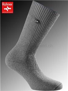 Rohner Socken ARMY BOOTS - 059 grau