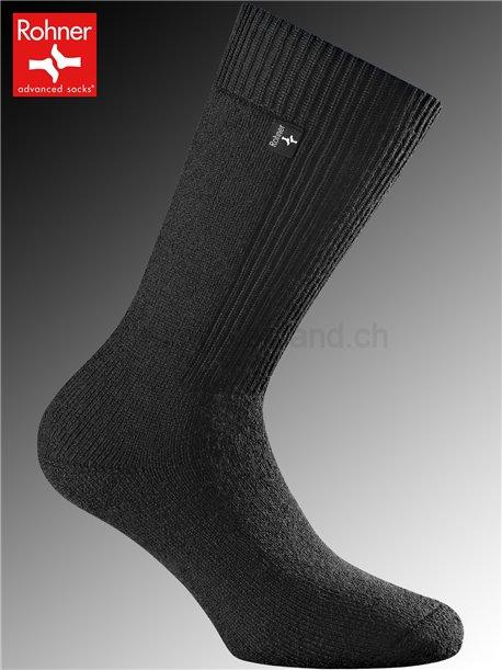Rohner Socken ARMY BOOTS - 009 schwarz