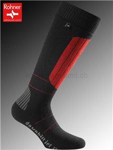 Rohner Socken DOWNHILL JET - 114 vulkan