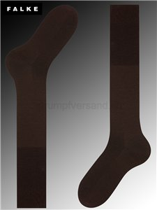 Falke Kniesocken Airport - 5930 brown