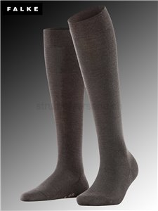 Kniesocken SOFT MERINO - 5239 dark brown
