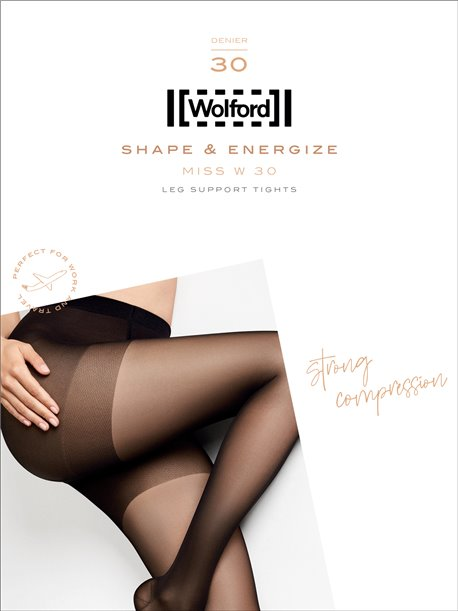 Miss W 30 - Wolford Stützstrumpfhose