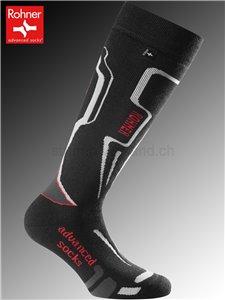 Rohner Socken R-MOTION - 009 schwarz