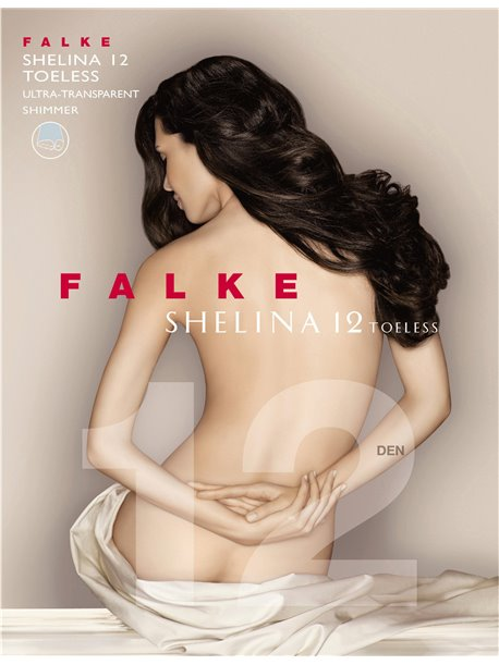 Zehenfreie Strumpfhosen - SHELINA 12 TOELESS