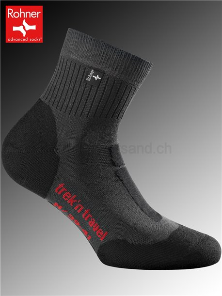 Rohner Socken TREK'N TRAVEL - 135 anthracite
