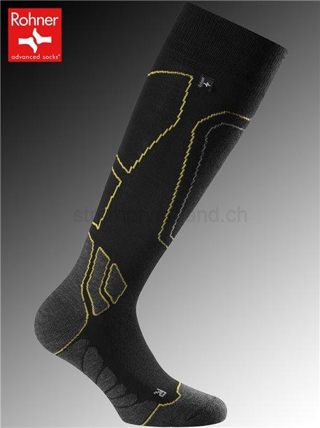 Rohner Socken CARVING WOMEN - 031 gelb