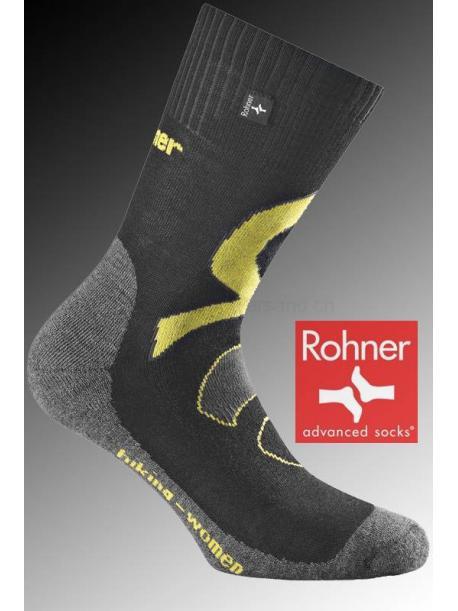 Rohner Socken HIKING WOMEN - 009 schwarz