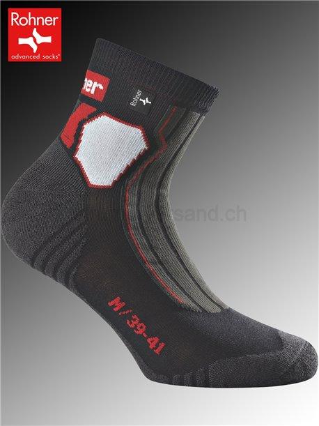 Rohner Socken TRAIL - 009 schwarz