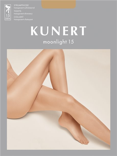 15 DEN KUNERT Damen Glanz Fein Strumpfhose Moonlight