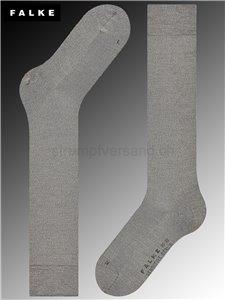 Kniesocken SENSITIVE BERLIN - 3830 light grey