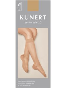 Kunert Kniestrümpfe - COTTON SOLE 20