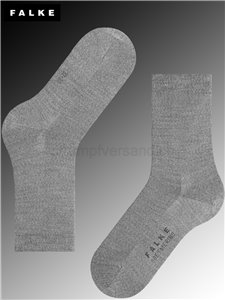 Damensocken SOFT MERINO - 3830 light grey