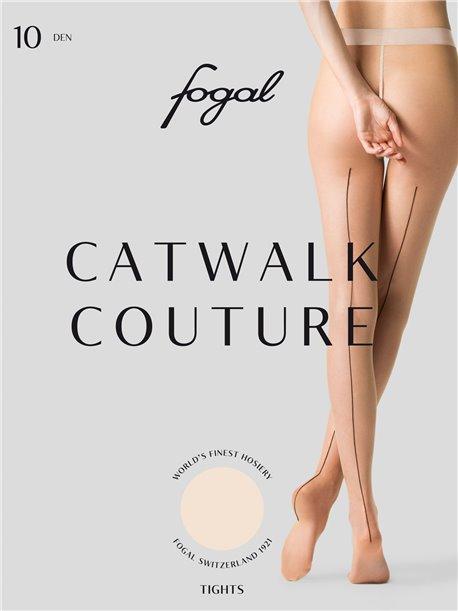 catwalk couture fogal strumpfhosen mit naht. Black Bedroom Furniture Sets. Home Design Ideas