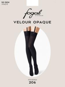 VELOUR OPAQUE - Fogal Strapsstrümpfe