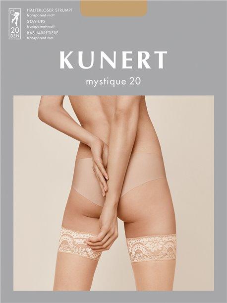 attraktive Mode gesamte Sammlung angemessener Preis MYSTIQUE 20 halterlose Strümpfe im KUNERT Online Shop