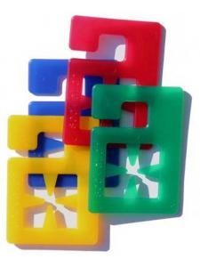 Socklet Sockenklammern - 4 Farben