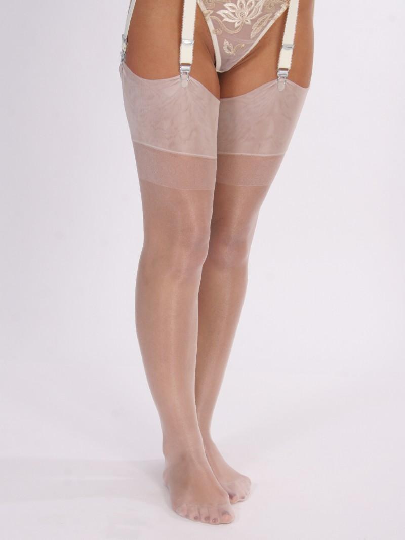 Semi transparent leggings with vpl - 5 4