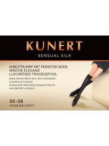 Sensual Silk - Kniesocken