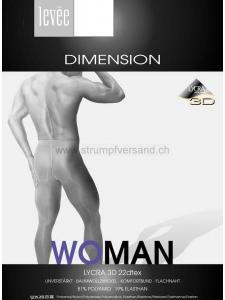 WoMan Dimension - Herrenstrumpfhose