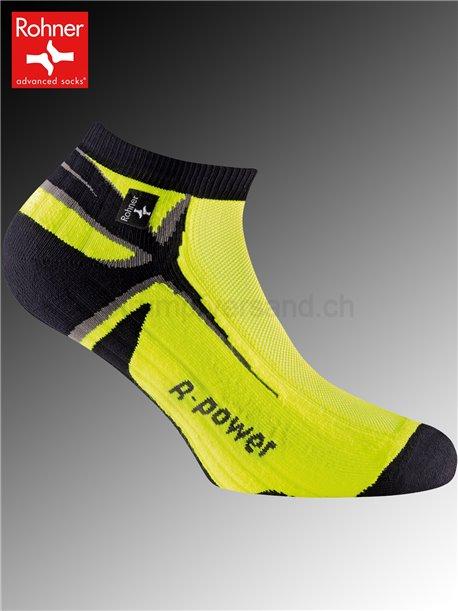 Rohner Socken R-POWER - 518 neon gelb