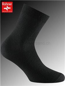 PREMIUM Rohner Socken - 009 schwarz