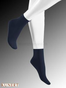 Sensual Silk Damensocken - 222 night blue