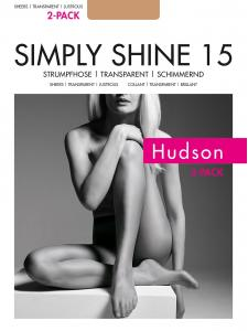 SIMPLY SHINE 15 - Hudson Strumpfhosen
