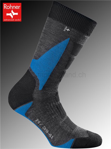 Rohner Socken BACK COUNTRY - 304 blau