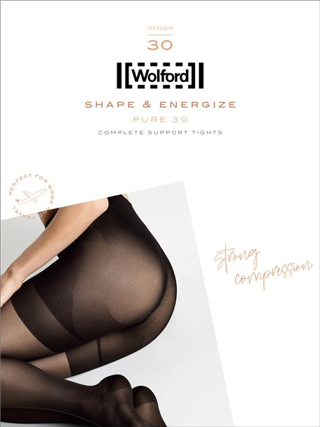 Pure 30 Complete Support - Wolford Strumpfhose