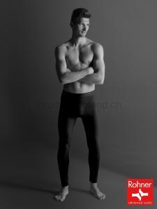 Lange Unterhose - schwarz