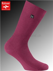Rohner Socken SUPER - 011 bordeaux