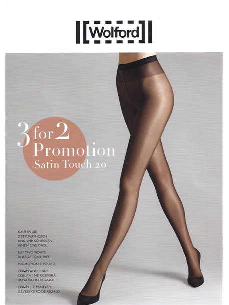 PROMOTION 3 für 2 - Satin Touch 20