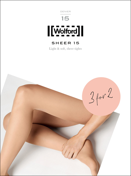 PROMOTION 3 für 2 - Wolford Sheer 15