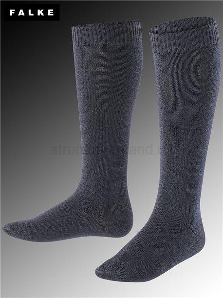 Comfort Wool Kniesocken - 6170 dark marine