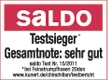 Saldo Testsieger Logo